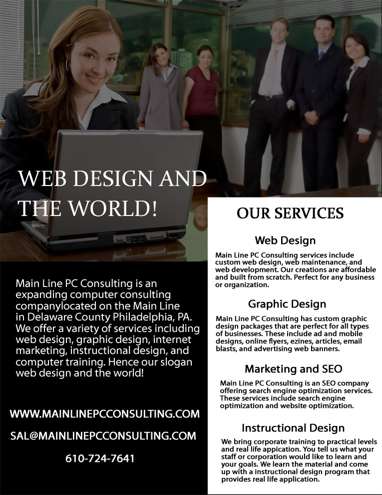 Main Line PC Consulting Flyer